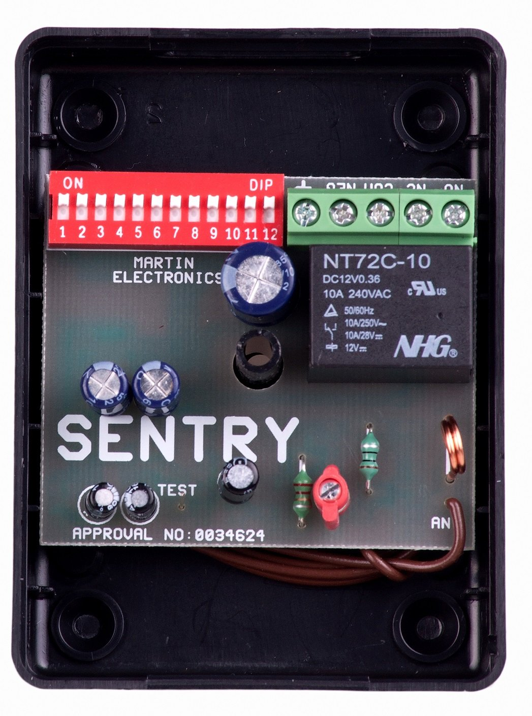 Sentry 1 Channel Binary Code Receiver