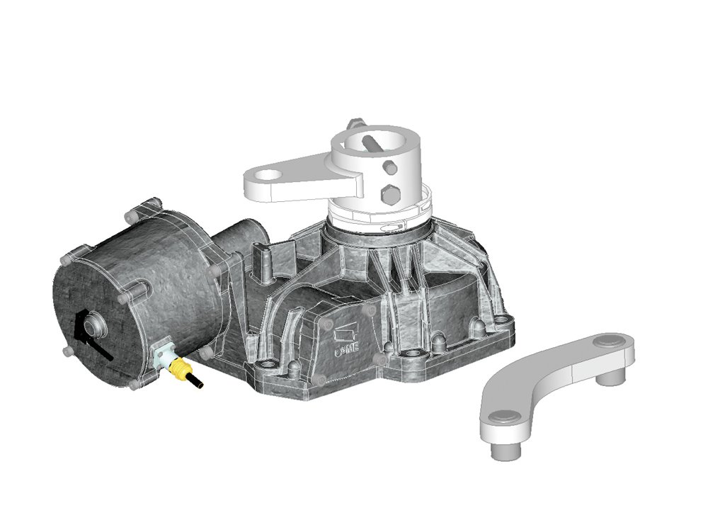 CAME Frog PM6 Gate Motor