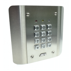 AES CellCom Prime Slave Architectural Stainless Keypad